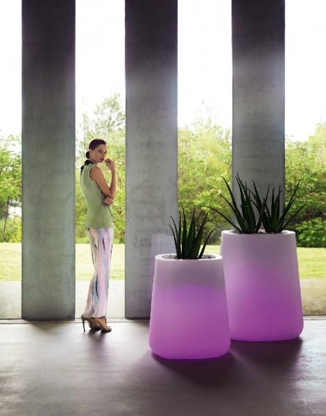 Vondom Round Vasijas LED Verlicht