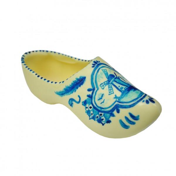 Chocolade Klomp Delfts Blauw beschilderd