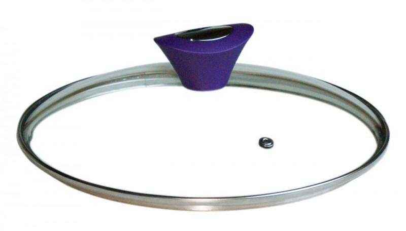 Durandal deksel 24cm paars
