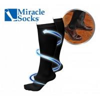 miracle-socks-compressiekousen-zwart-lxl - MIS003