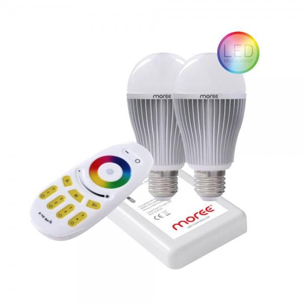 Starterskit RGB RF/WIFI Ledlampen