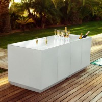 Vondom Vela Catering Bar with LED light
