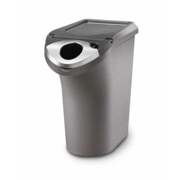 Simplehuman DEMO Front Load Recycler 22,5 liter (Grijs/Antraciet)