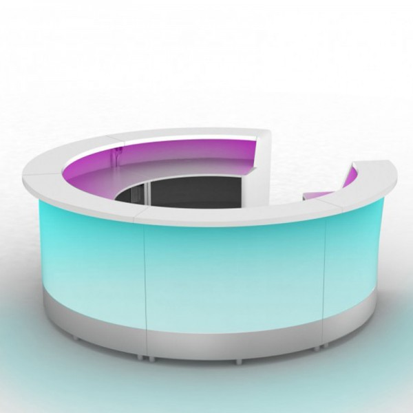 Moree Modulaire Cirkelvormige LED verlichte Bar als set