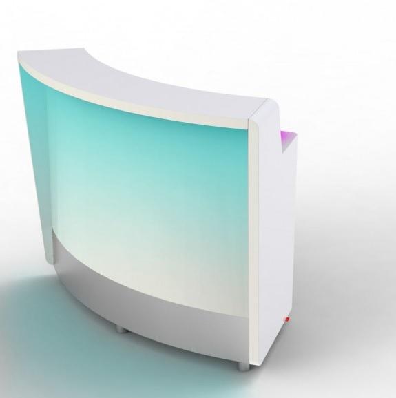 Moree Modulaire 60° verlichte bar