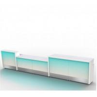 Moree Modulaire 1 meter verlichte bar laag model