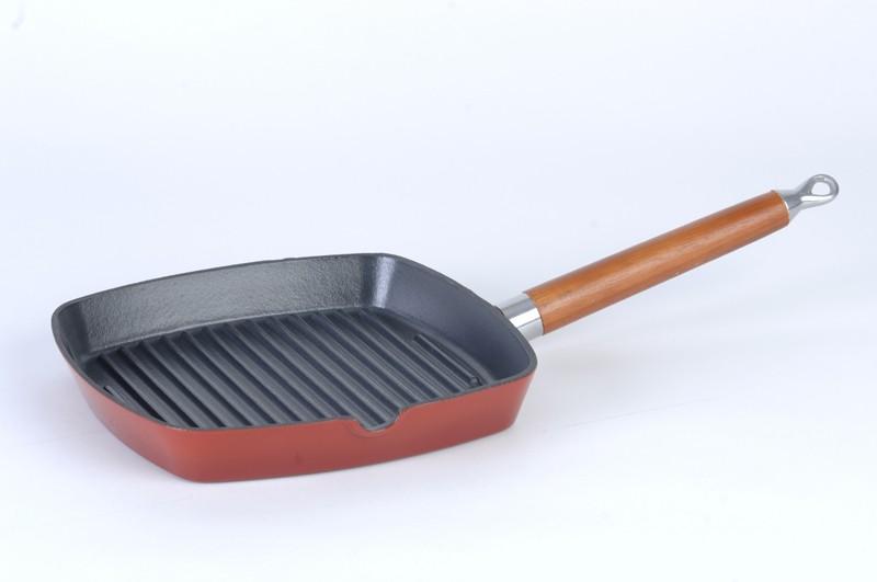 American Grill-pan voor vetvrij grillen