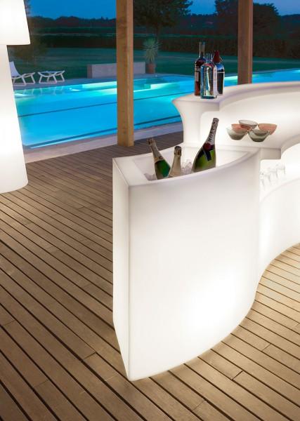 Slide Design Ice Bar