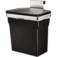 simplehuman-afvalemmer-incabinet-10-liter-zwart - SH 016498