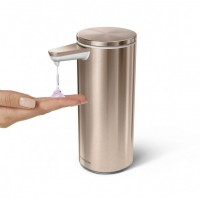 simplehuman-zeepdispenser-sensor-oplaadbaar-266-ml-rose-gold - SH 020440