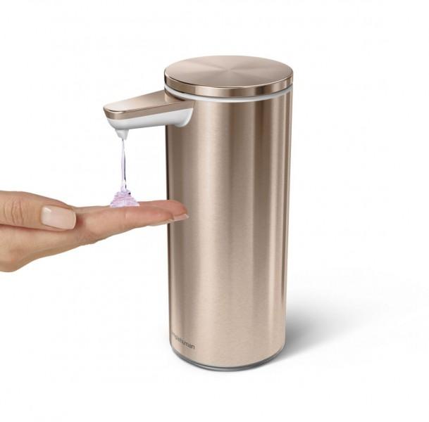 Simplehuman Zeepdispenser Sensor Oplaadbaar 266 ml Rose Gold
