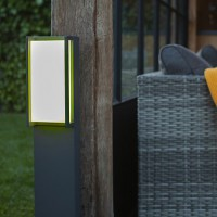 lutec-qubo-outdoor-tuinpaal-led-wiz-connected - 7193002118