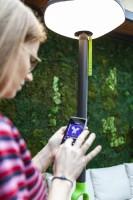 LUTEC POPPY Outdoor Solar Lamp & Speaker