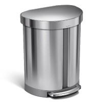 simplehuman-afvalemmer-liner-pocket-half-rond-recycler-55-liter - SH 021164