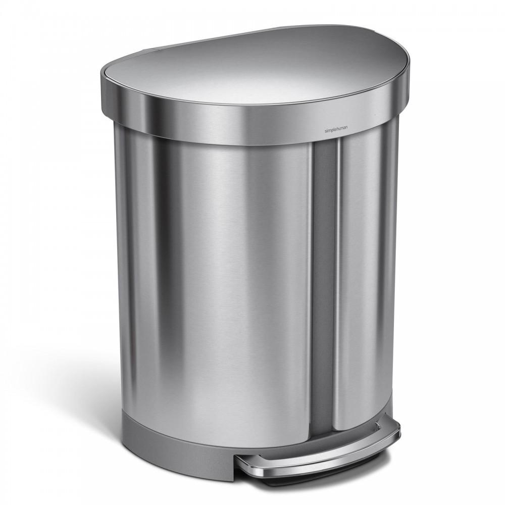 Simplehuman Afvalemmer Liner Pocket Half Rond Recycler 55 liter
