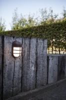 Lutec Bullo LED-buitenwandlamp