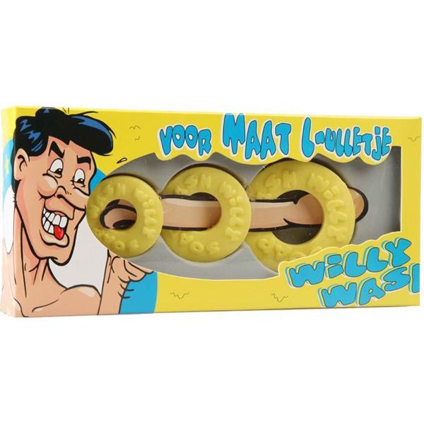 Willy Wash met 3 zeepjes