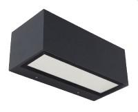 lutec-gemini-ledwandlamp-antraciet - 5189112118