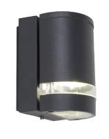 lutec-focus-gu10buitenwandlamp-zwart - 5604101118
