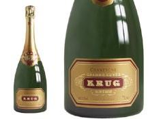 Krug Grande Cuvée.