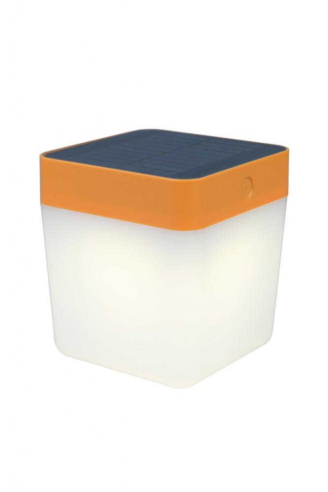 Lutec Table Cube LED-Solarlamp (oranje)