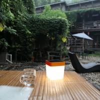 lutec-table-cube-ledsolarlamp-oranje - 6908001340