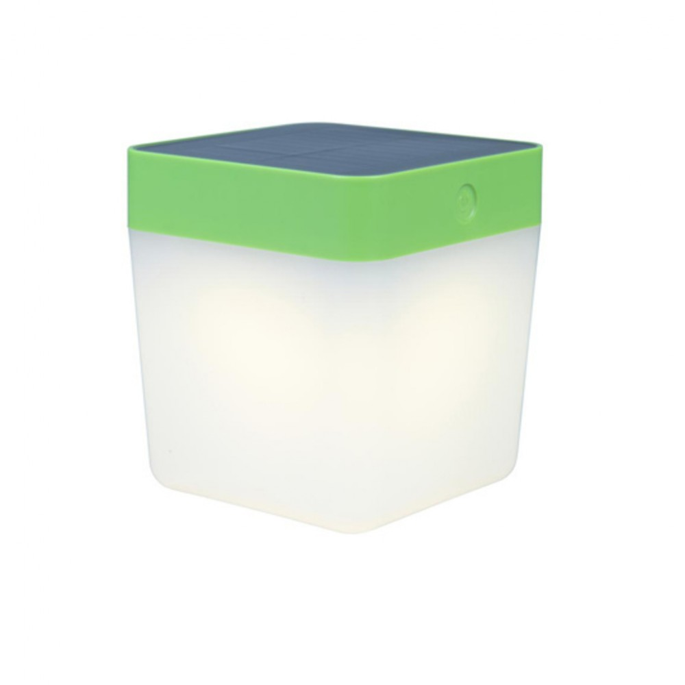 Lutec Table Cube LED-Solarlamp (groen)
