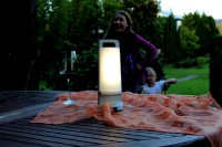 Lutec Dragonfly Draagbare LED-Solarlamp (wit)