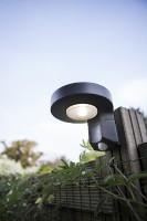 Lutec Diso LED-Solarwandlamp