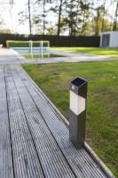 Lutec Solstel LED-Solarpaallamp