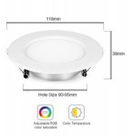 MiLight Downlight 6W RGB + CCT LED-Spot