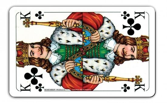 Remember Ontbijtplankje Speelkaart Koning