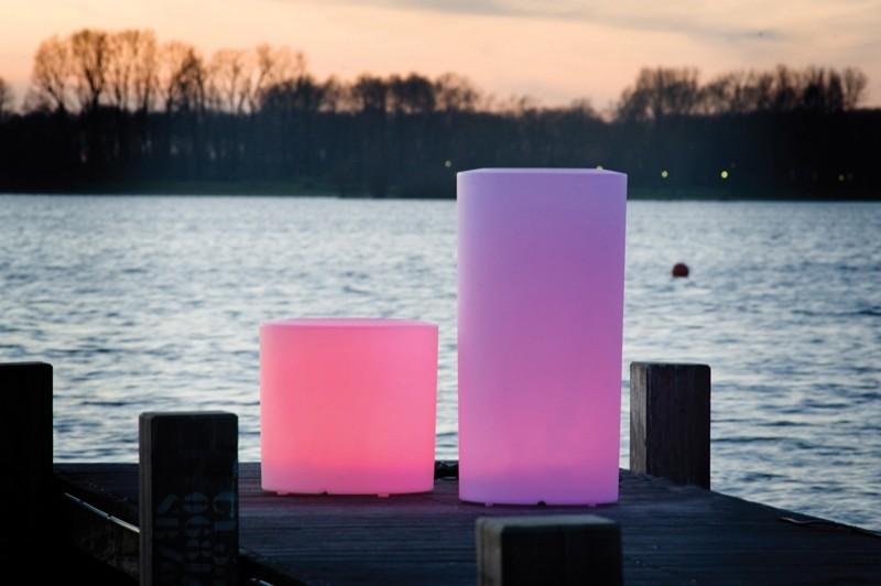 Bloempot Siena LED