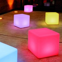 Moree Cube 44 LED Accu indoor/Outdoor