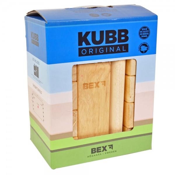 Kubb original : Rubberhout