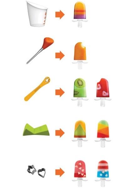 Zoku Quick Pop Maker, Quick Pop Tools