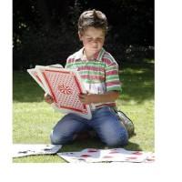 BuitenSpeel Groot Kaartspel voor in de tuin of in huis