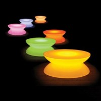Moree Lounge Table LED verlicht
