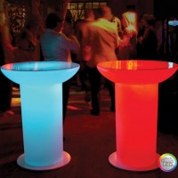 Moree Lounge Up LED Pro Accu - verlichte statafel