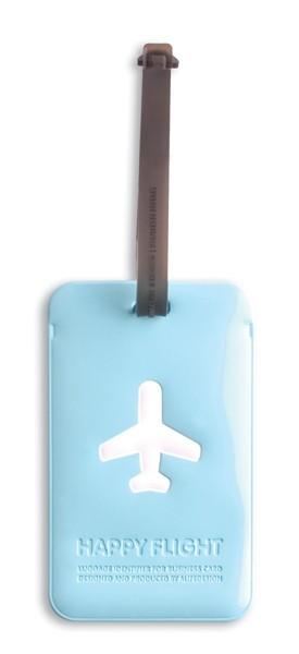 Happy Flight Bagage Label Rechthoek