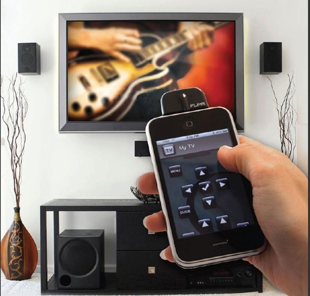 Universele afstandsbediening voor iPhone-iPod