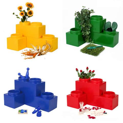 Bloembak Lego 101