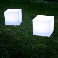 Lounge Cube Collection Wit Verlicht