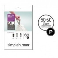 simplehuman-afvalzak-p-5060-liter - SH 003269
