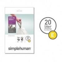 simplehuman-afvalzak-e-20-liter - SH 003153