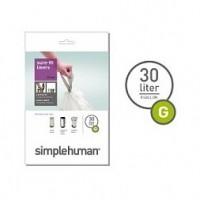 simplehuman-afvalzak-g-30-liter - SH 003177