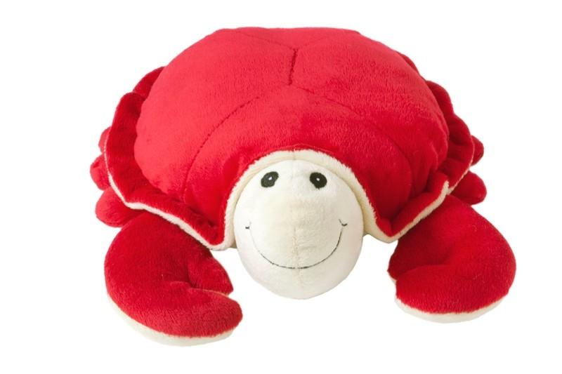 Op Kids Plus is alles over gadgets te vinden: waaronder magnetronberen en specifiek Beddy Buddie Krab