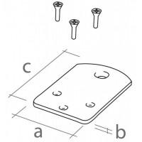 grondbevestigings-platen