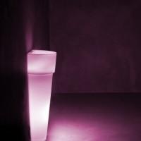 Muurpilaar Halve Pisa LED Verlicht