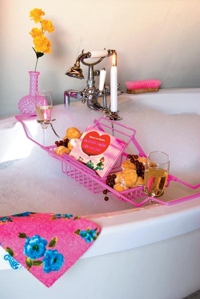 Alles in bad doen Caddy